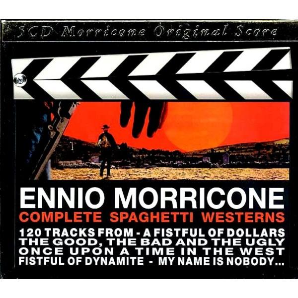 Box Ennio Morricone - Complete Spaghetti Westerns (5 CD's - IMPORTADO)