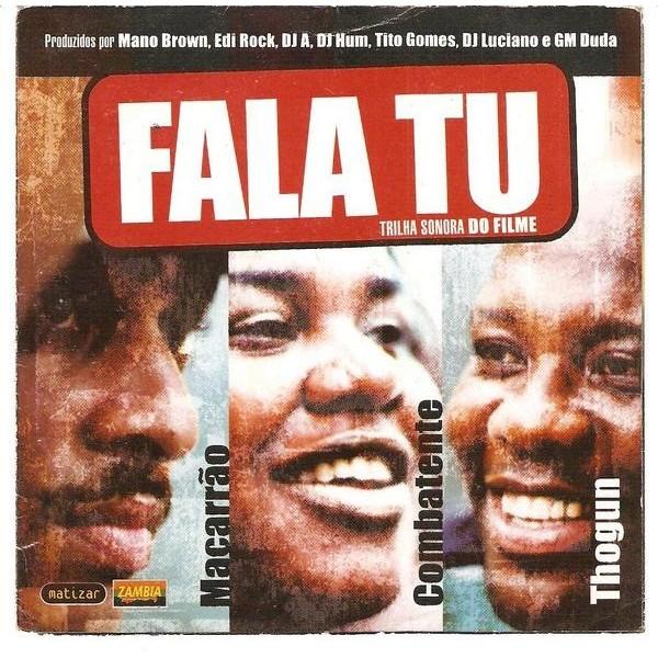 CD Fala Tu - Trilha Sonora Do Filme