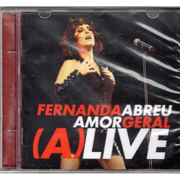 CD Fernanda Abreu - Amor Geral (A)Live