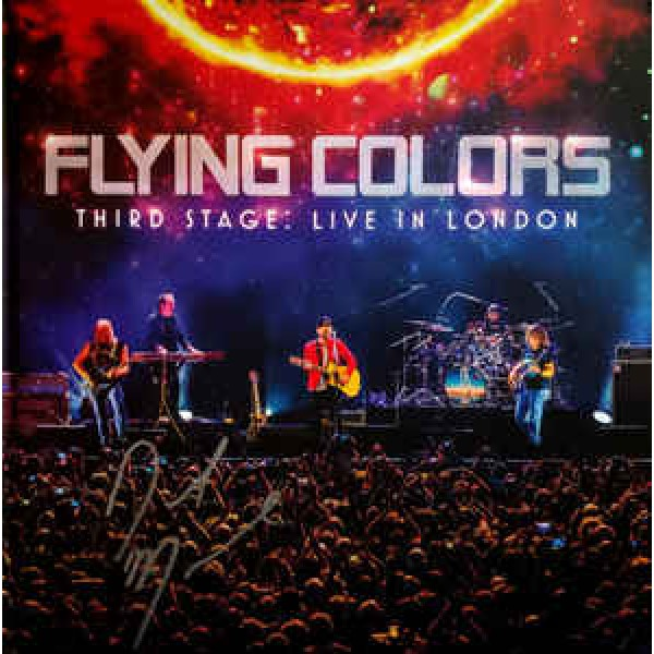 Box Flying Colors - Third Stage: Live In London (2 CD's + DVD)