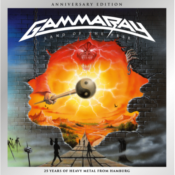 CD Gamma Ray - Land Of The Free: Anniversary Edition (DUPLO)