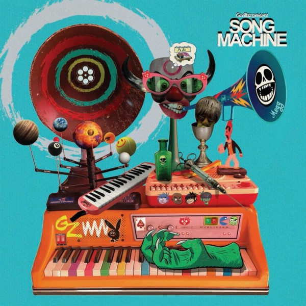 CD Gorillaz - Song Machine Season One