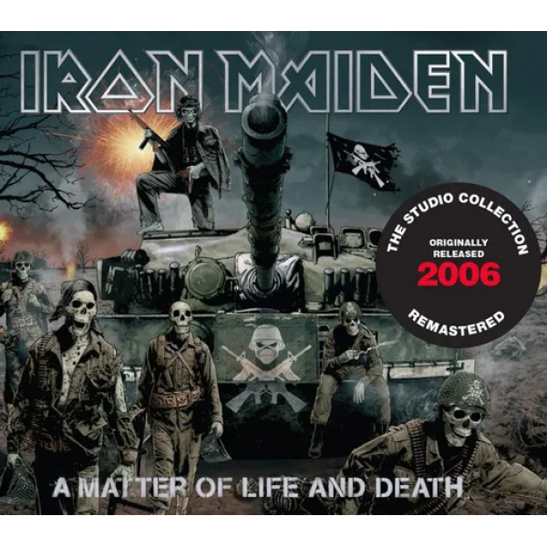 CD Iron Maiden - A Matter Of Life And Death (The Studio Collection Remastered - Digipack)