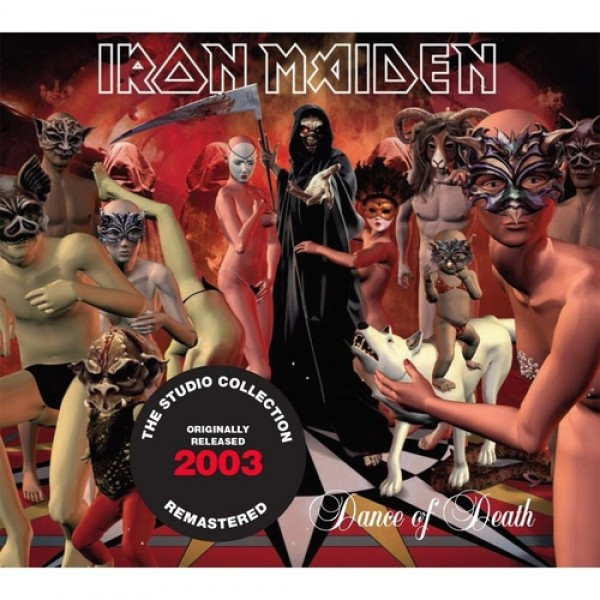 CD Iron Maiden - Dance Of Death (The Studio Collection Remastered - Digipack)