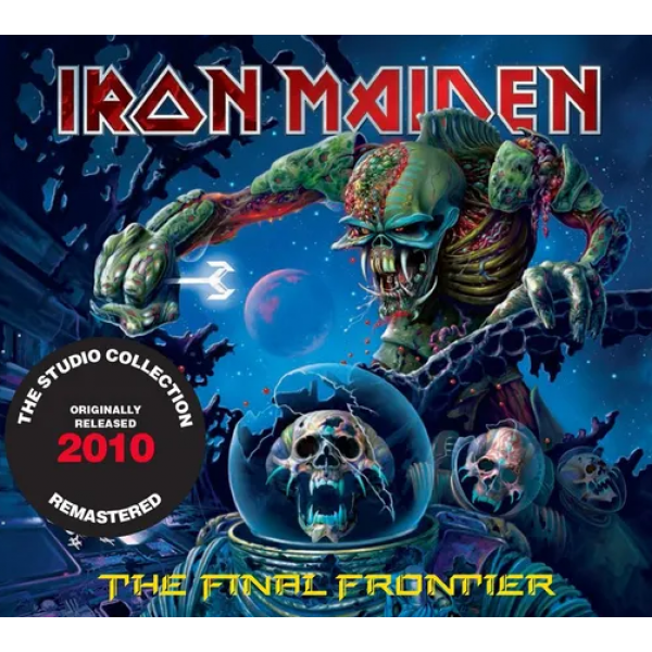 CD Iron Maiden - The Final Frontier (The Studio Collection Remastered - Digipack)