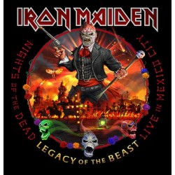 CD Iron Maiden - Nights Of The Dead/Legacy Of The Beast/Live In Mexico City (DUPLO)