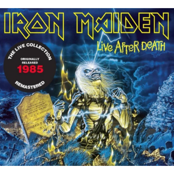 CD Iron Maiden - Live After Death (The Live Collection Remastered - Digipack DUPLO)