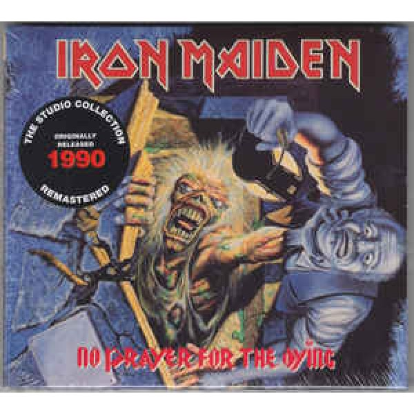 CD Iron Maiden ‎- No Prayer For The Dying (Remastered - Digipack)