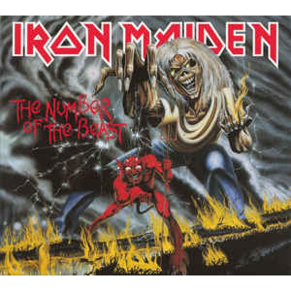 CD Iron Maiden - The Number Of The Beast (Remastered - Digipack)