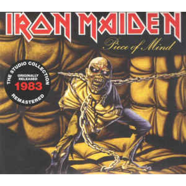CD Iron Maiden - Piece Of Mind (Remastered - Digipack)