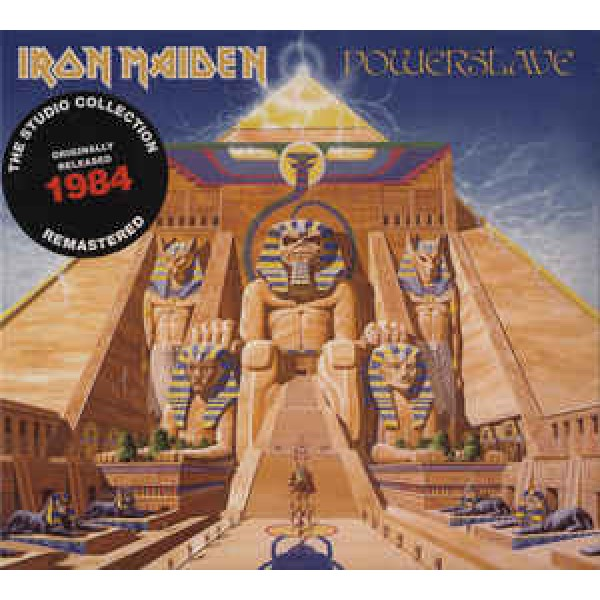 CD Iron Maiden - Powerslave (Remastered - Digipack)