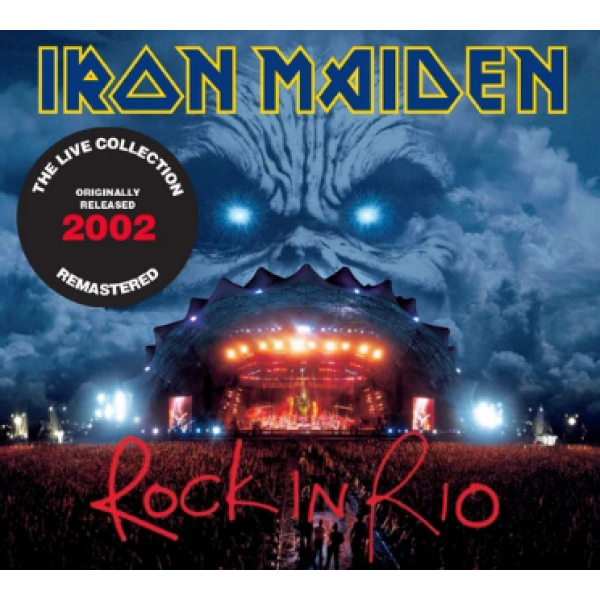 CD Iron Maiden - Rock In Rio (The Live Collection Remastered - Digipack DUPLO)