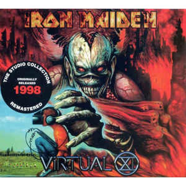 CD Iron Maiden - Virtual XI (Remastered - Digipack)