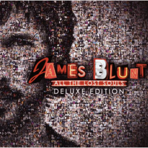 CD + DVD James Blunt - All The Lost Souls (Deluxe Edition)