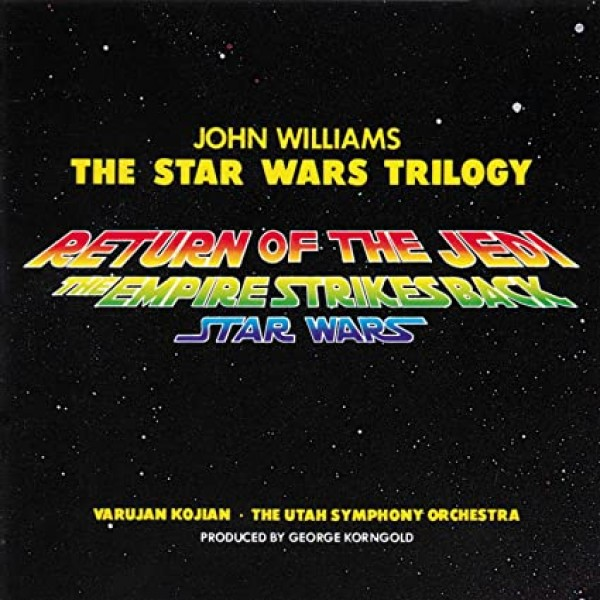 CD John Williams - The Star Wars Trilogy (O.S.T.)