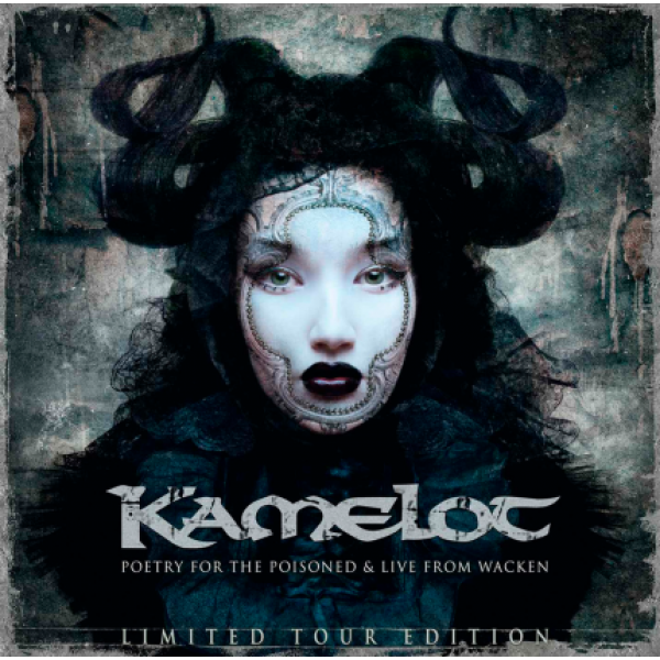 CD Kamelot - Poetry For The Poisoned + Live At Wacken 2010 (Tour Edition - DUPLO)