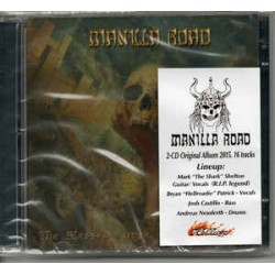 CD Manilla Road ‎- The Blessed Curse (DUPLO)