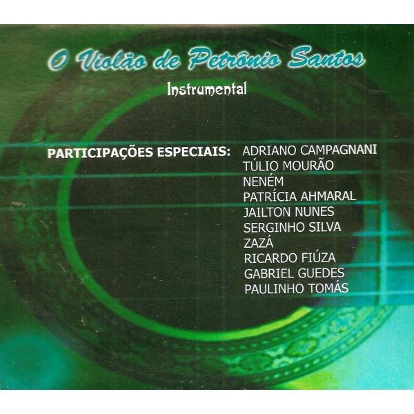 CD Petrônio Santos - O Violão de Petrônio Santos