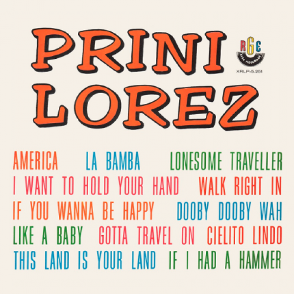 CD Prini Lorez - Prini Lorez (1964)