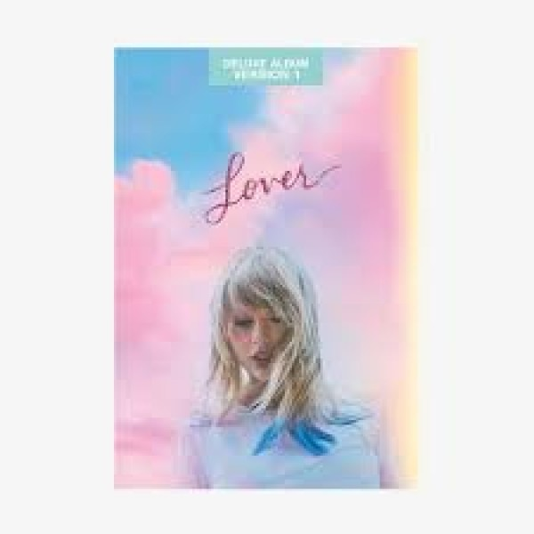 CD Taylor Swift - Lover (Deluxe Album - Version 1)