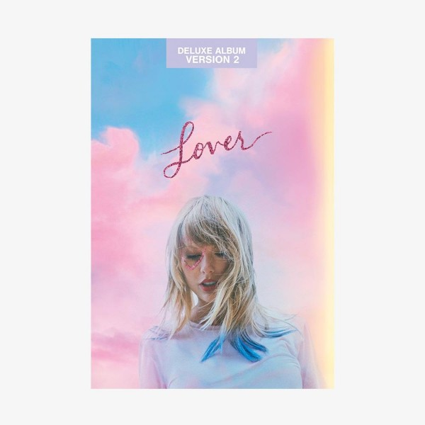 CD Taylor Swift - Lover (Deluxe Album - Version 2)