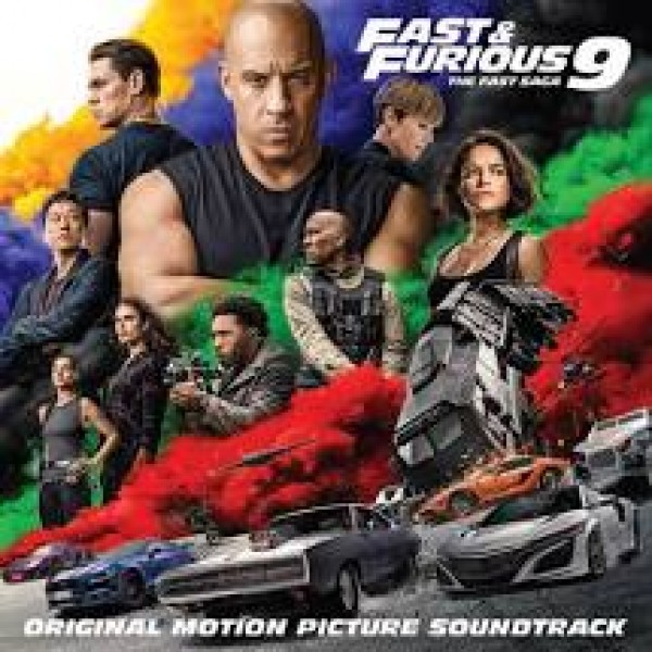 CD Fast & Furious 9: The Fast Saga - Original Motion Picture Soundtrack