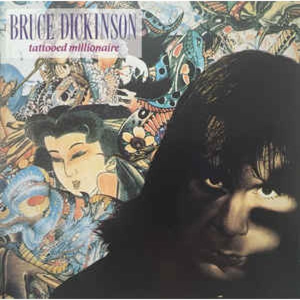 CD Bruce Dickinson - Tattoed Millionaire (IMPORTADO)