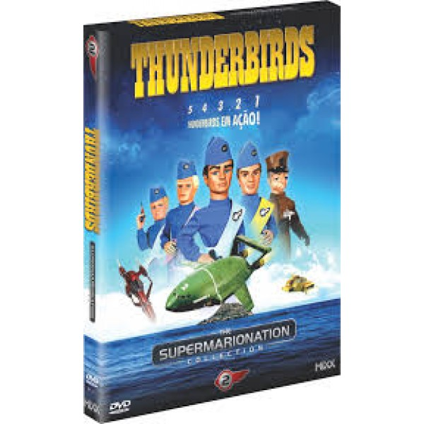 Box Thunderbirds - The Supermarionation Vol. 2 (4 DVD's)