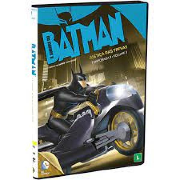DVD Batman - Justiça Das Trevas - Temporada 1 Volume 3