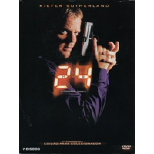 Box 24 Horas - Segunda Temporada (7 DVD's)