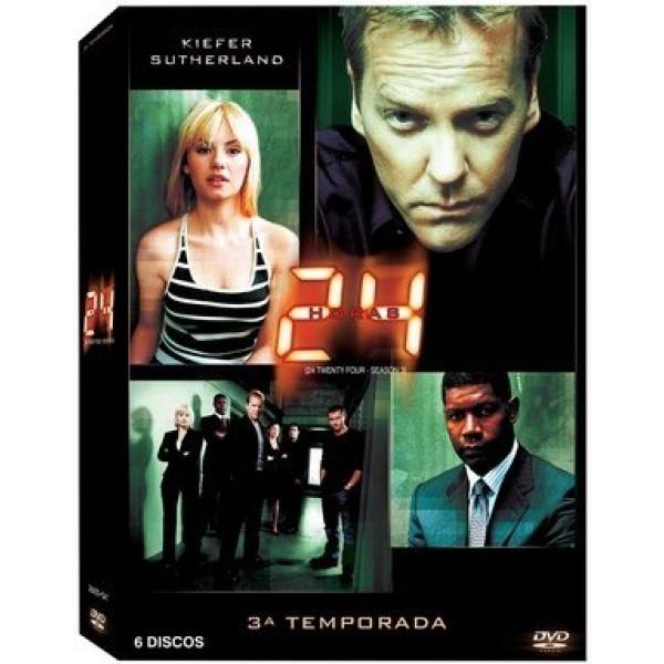Box 24 Horas - Terceira Temporada (7 DVD's)