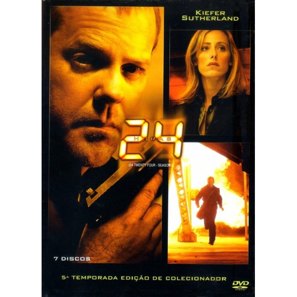Box 24 Horas - Quinta Temporada (7 DVD's)