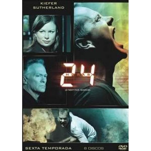 Box 24 Horas - Sexta Temporada (6 DVD's)