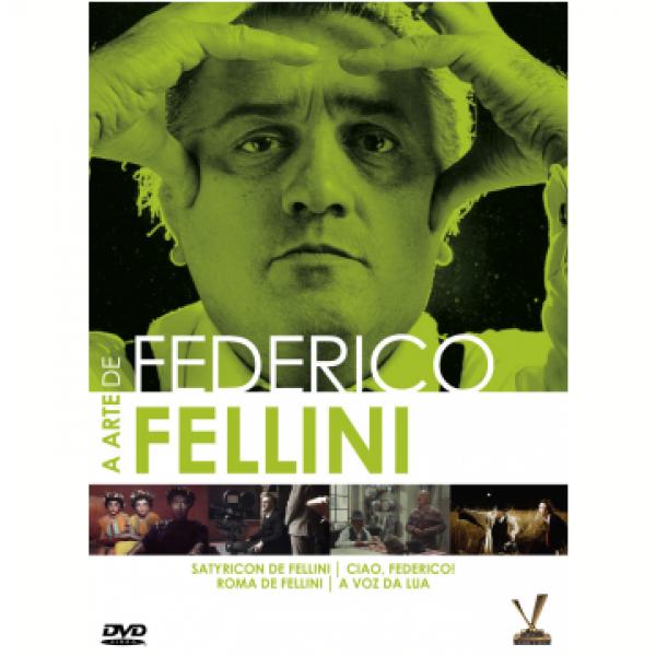 Box A Arte De Federico Fellini (2 DVD's)