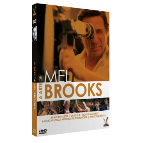 Box A Arte De Mel Brooks (2 DVD's)