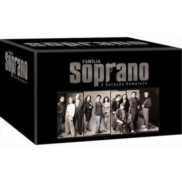 Box A Família Soprano - A Coleção Completa (28 DVD's)