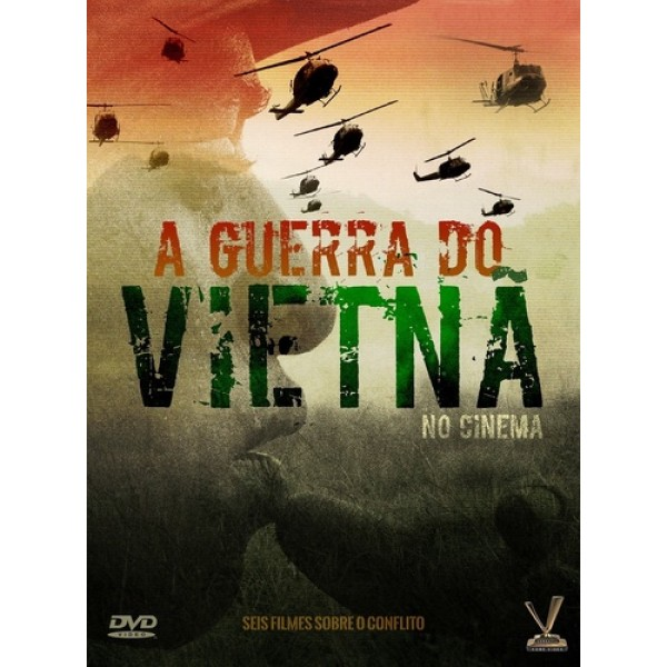 Box A Guerra Do Vietnã No Cinema (3 DVD's)