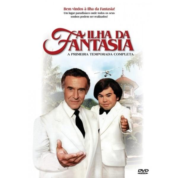 Box A Ilha Da Fantasia - A Primeira Temporada Completa (4 DVD's)