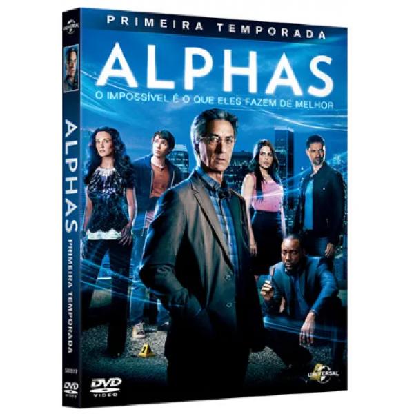 Box Alphas - Primeira Temporada (3 DVD's)