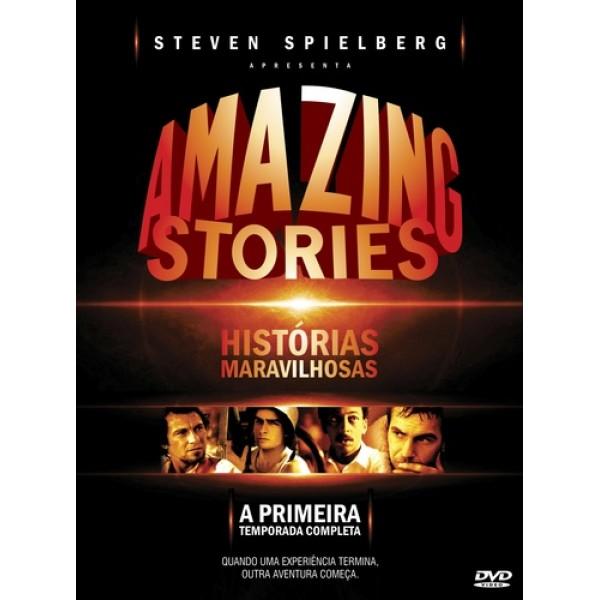 Box Amazing Stories - A Primeira Temporada Completa (4 DVD's)