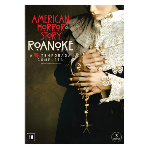 Box American Horror Story - Roanoke: A 6ª Temporada Completa (3 DVD's)