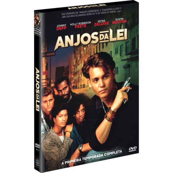 Box Anjos Da Lei - A Primeira Temporada Completa (4 DVD's)
