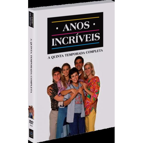 Box Anos Incríveis - A Quinta Temporada Completa (4 DVD's)