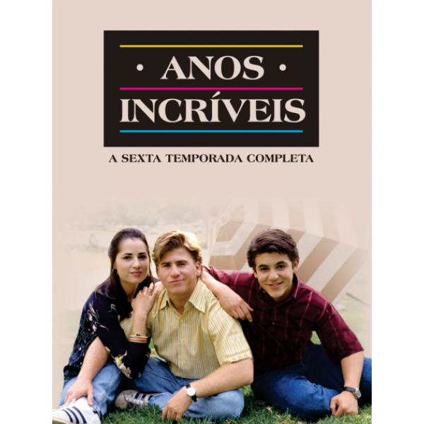 Box Anos Incríveis - A Sexta Temporada Completa (4 DVD's)