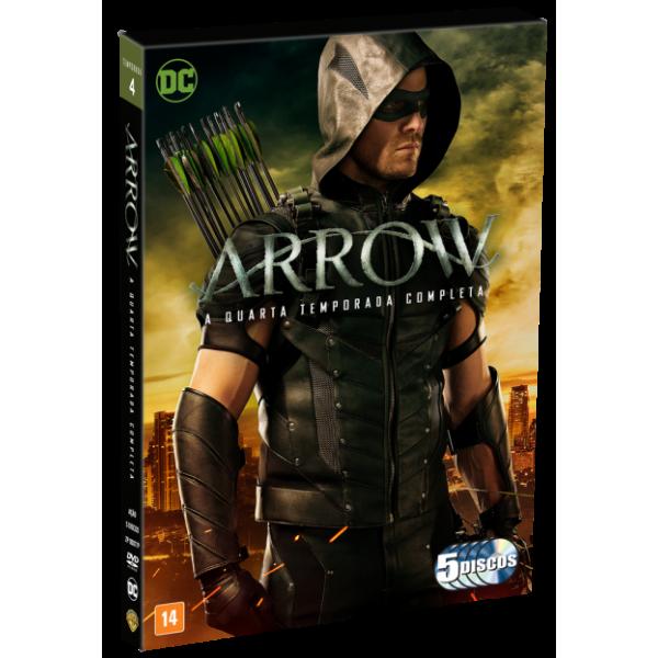 Box Arrow - A Quarta Temporada Completa (5 DVD's)