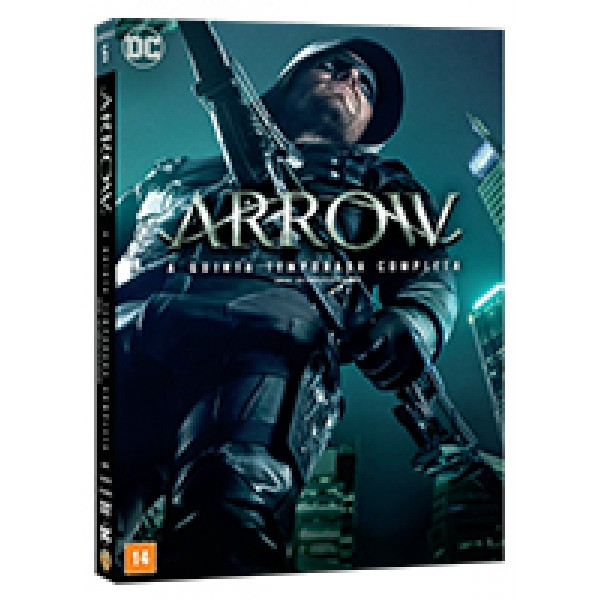 Box Arrow - A Quinta Temporada Completa (5 DVD's)