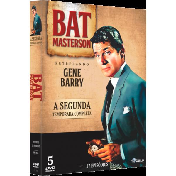 Box Bat Masterson - A Segunda Temporada Completa (5 DVD's)