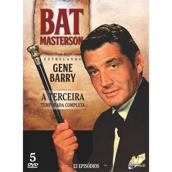 Box Bat Masterson - A Terceira Temporada Completa (5 DVD's)