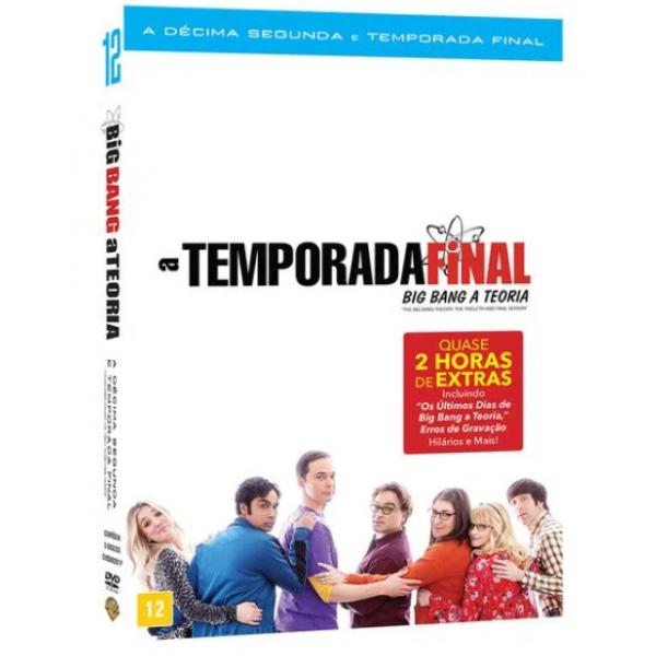 Box Big Bang A Teoria - A Décima Segunda Temporada Completa: Temporada Final (3 DVD's)