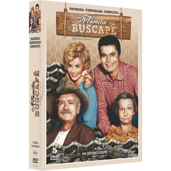 Box A Família Buscapé - Primeira Temporada Completa (5 DVD's)